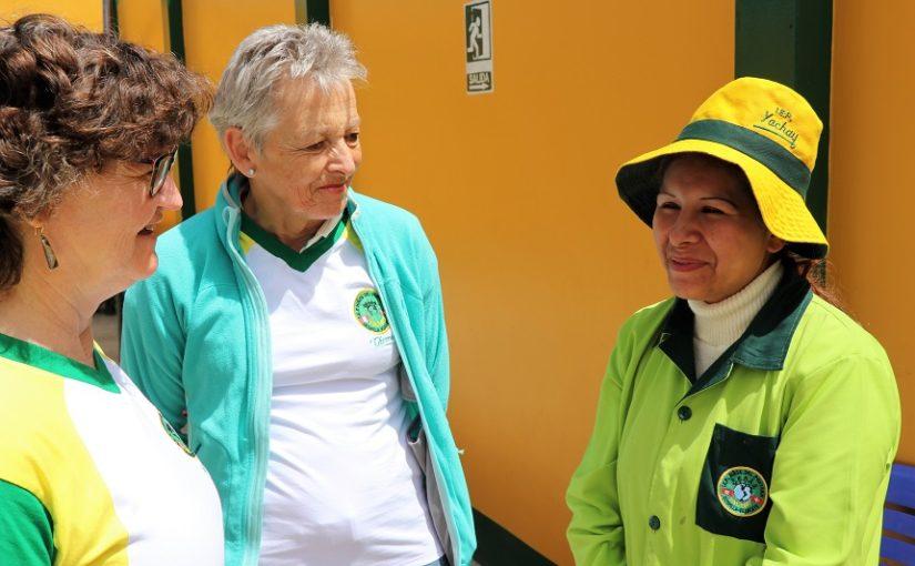 Besuch von Theres Arnet in Huancayo