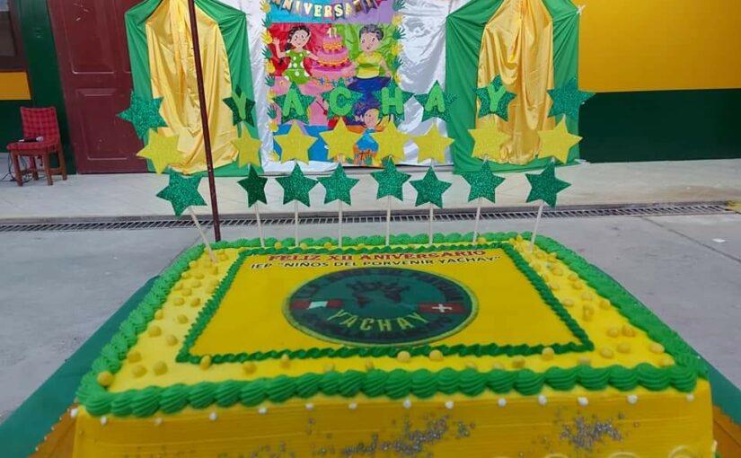 Unsere Primarschule Yachay feiert ihr 12. Jubiläum